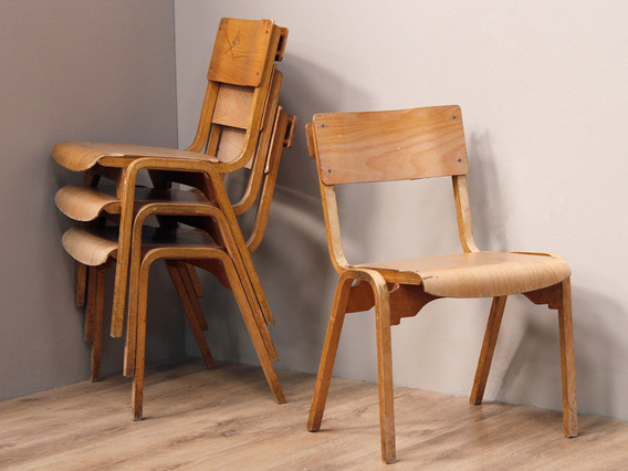 View our  Mid-Century Chapel Chairs from the  Dining Room collection