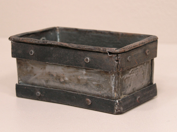 View our  Mini Tote Tins from the  Old Wooden Chests, Trunks & Boxes collection