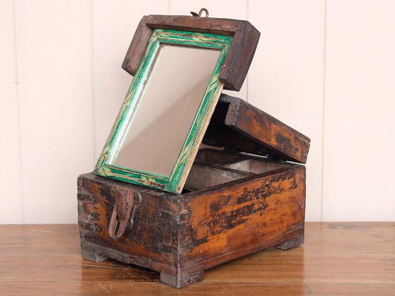 Mirrored Barber's Box