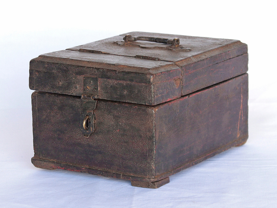 View our  Old Barber's Box from the   collection