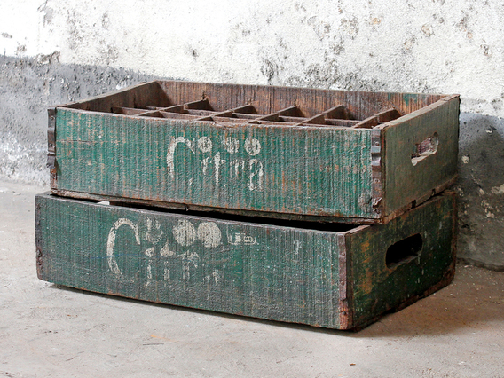 Old Citra Bottle Crate
