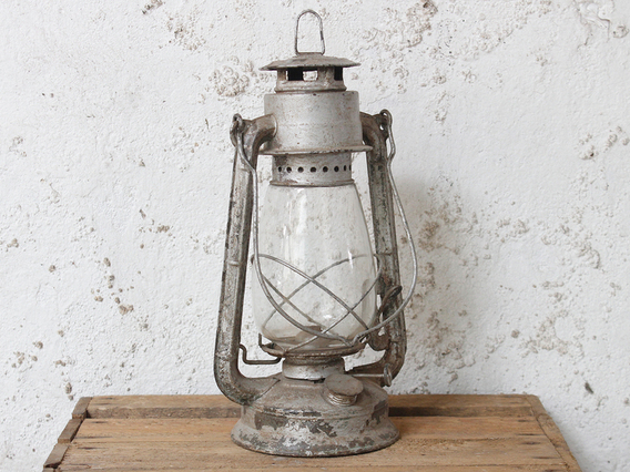 Old Lantern - Silver