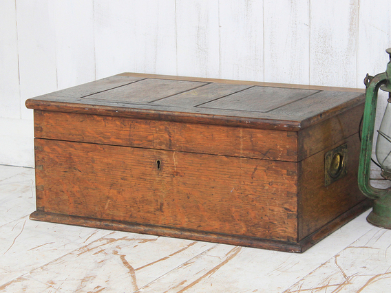 View our  Old Oak Box from the  Old Wooden Chests, Trunks & Boxes collection