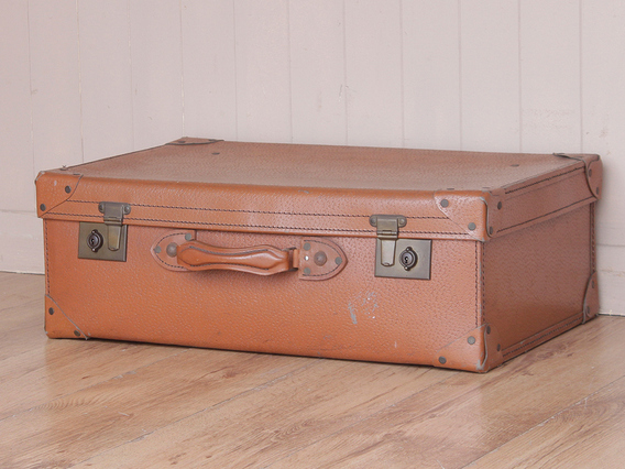 View our  Old Tan Suitcase from the  Vintage Suitcases collection