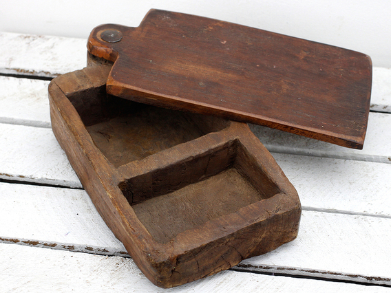 View our  Original Indian Spice Container from the  Vintage Wooden Pots collection