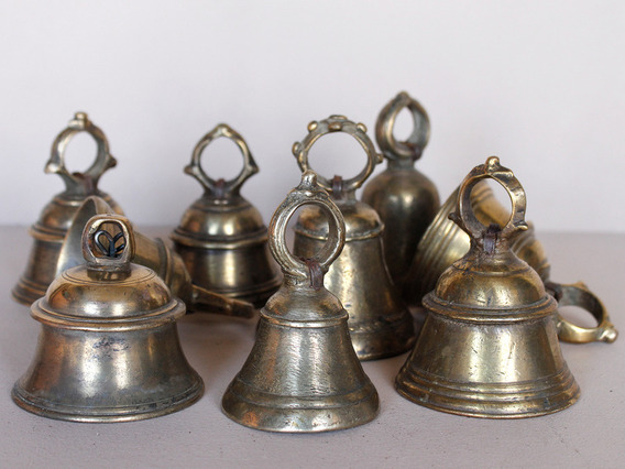 View our  Original Temple Bell Medium from the  Vintage Art  collection