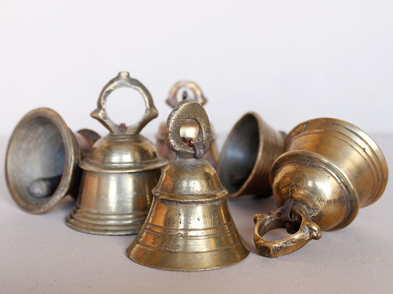 View our  Original Temple Bell Small from the  Vintage Art  collection