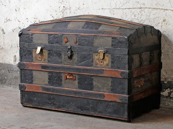View our  Antique Trunk from the  Sold collection