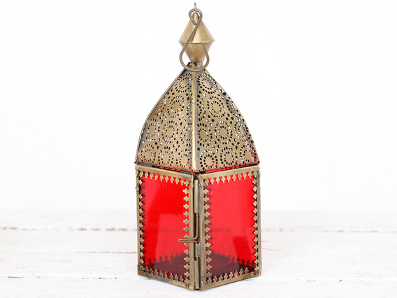View our Women Red Glass Lantern from the Women Sold collection