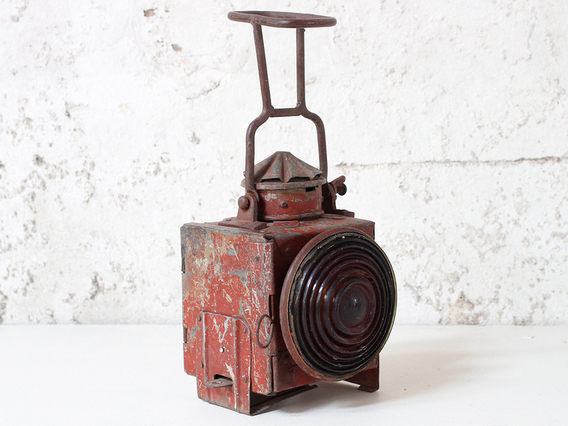 View our  Vintage Red Railway Lamp from the  Vintage & Retro Lighting collection