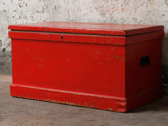 View our  Red Chest from the  Blanket Box collection