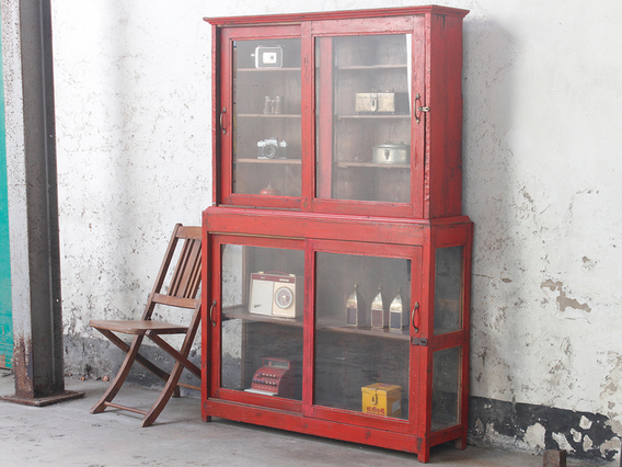 View our  Red Vintage Cabinet from the   collection