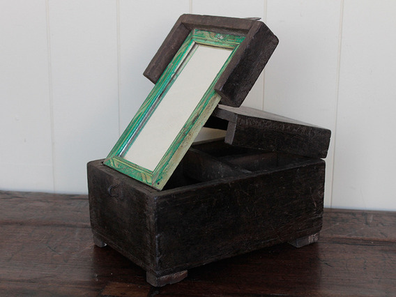 View our  Rustic Barber Box from the   collection