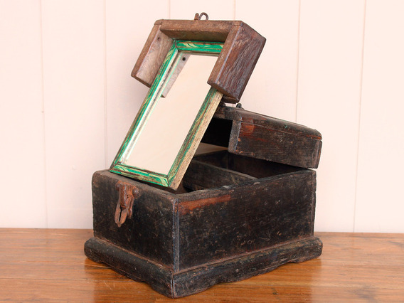 View our  Rustic Barber's Shaving Box from the   collection