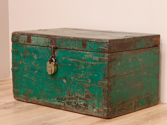 View our  Rustic Green Chest from the   collection