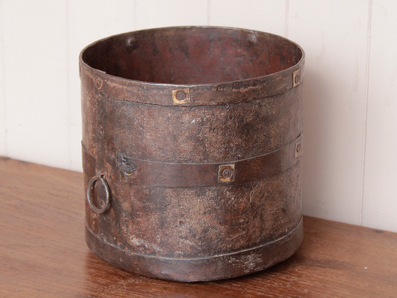 View our  Rustic Metal Measuring Pot  from the   collection