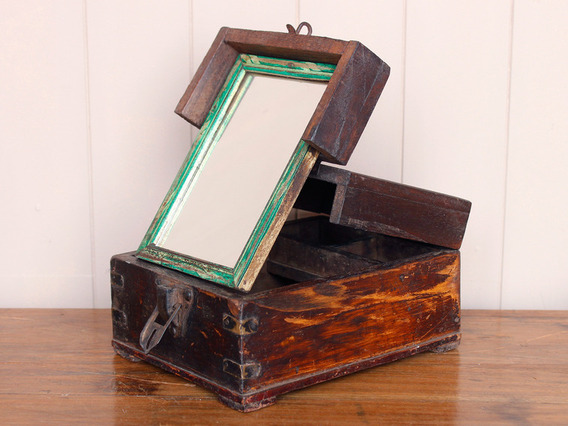 View our  Traditional Mirrored Barber Box from the   collection