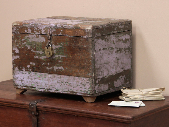 View our  Old Wooden Money Chest  from the   collection