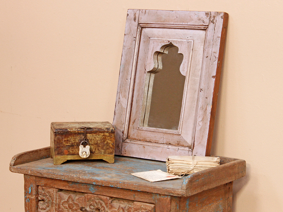 View our  Rustic Pink Mirror from the  Valentine's Gifts collection