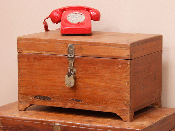 View our  Old Stationery Chest from the  Old Wooden Chests, Trunks & Boxes collection