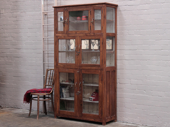 View our  Vintage Shop Display Cabinet from the   collection