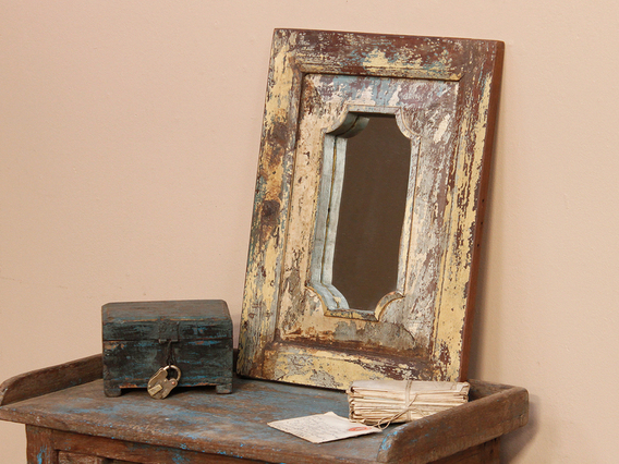 View our  Shabby Chic Mirror from the  Wooden Mirrors collection