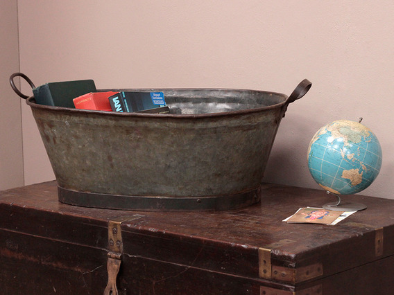 View our  Rustic Vintage Metal Pail from the   collection