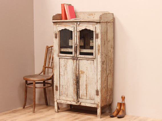 View our  Rustic Vintage White Cupboard from the  Sold collection