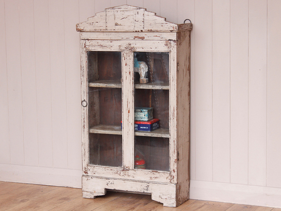 View our  Old White Wall Cabinet from the  Sold collection