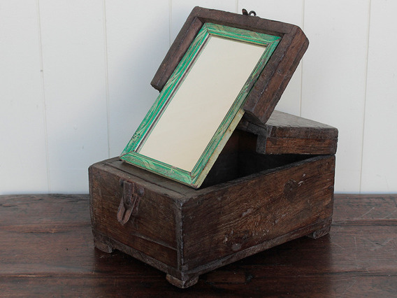 View our  Rustic Wooden Barber Box from the   collection
