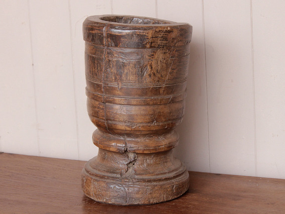 View our  Old Wooden Pot from the  Vintage Wooden Pots collection
