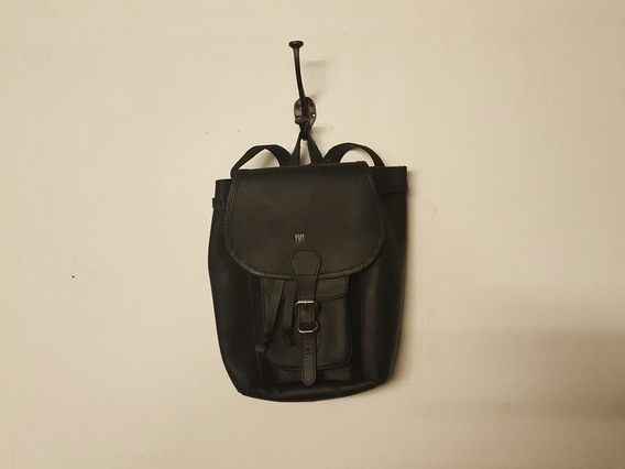 View our  SECONDS Black Mini Boho Backpack from the  Sold collection