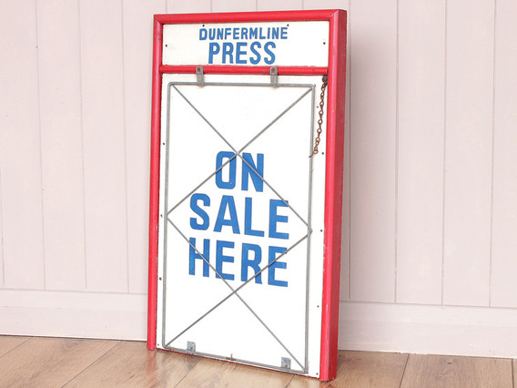 View our  Vintage News Stand Billboard from the   collection
