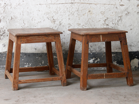 View our  Kitchen Bar Stool from the  Old Chairs, Stools & Benches collection