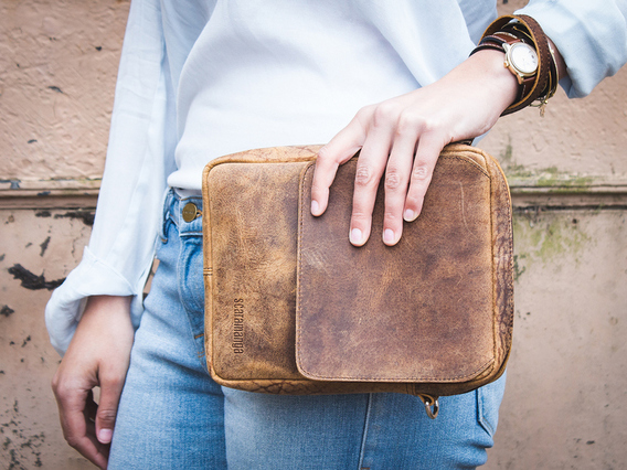 The Avenue Leather Bag