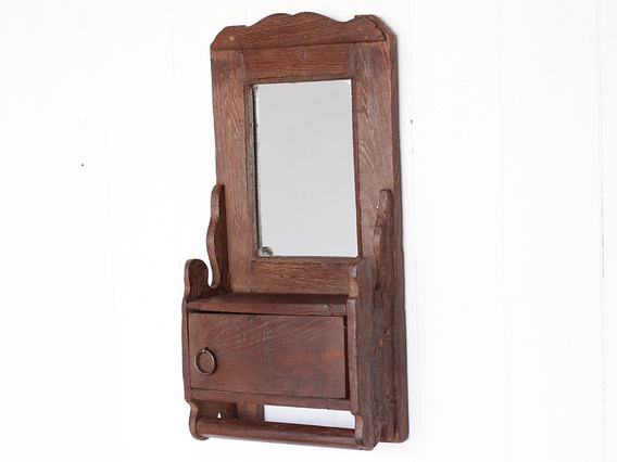 View our  Traditional Shaving Mirror from the  Wooden Mirrors collection
