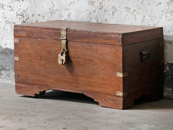 View our  Wooden Trunk from the  Blanket Box collection