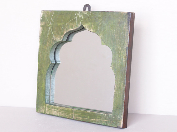View our  Temple Wooden Mirror from the   collection