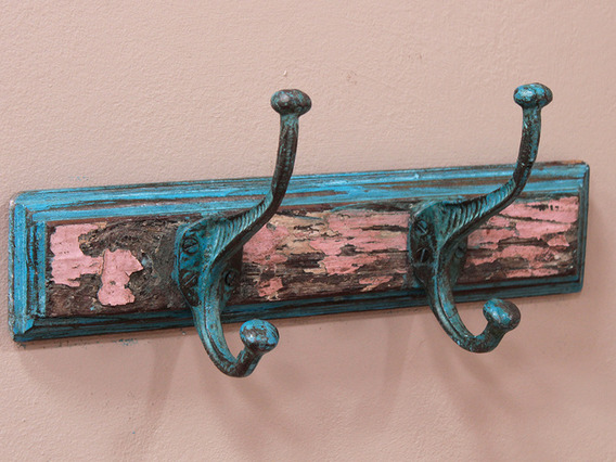 View our  2-Hook Coat Rack - Pink from the   collection