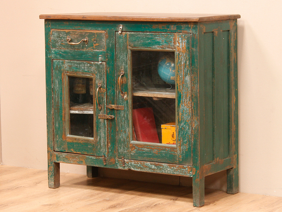 View our  Vintage Green Cabinet from the   collection