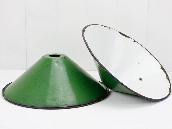 View our  Vintage Green Pendant Lampshade from the  Vintage & Retro Lighting collection