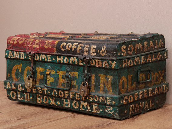 View our  Vintage Painted Metal Storage Case from the   collection