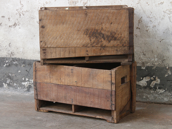 View our  Wooden Storage Boxes from the  Old Wooden Chests, Trunks & Boxes collection