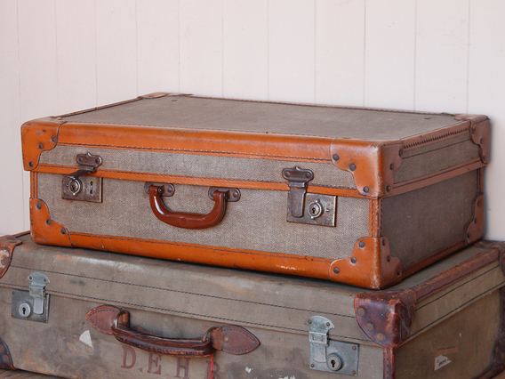 View our  Vintage Suitcase from the  Wedding Gifts & Decor collection