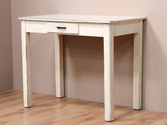 View our  Vintage White Desk from the   collection
