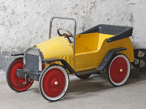 View our  Yellow Pedal Car from the   collection
