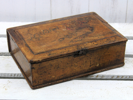View our  Small Wooden Storage Box from the  Old Wooden Chests, Trunks & Boxes collection