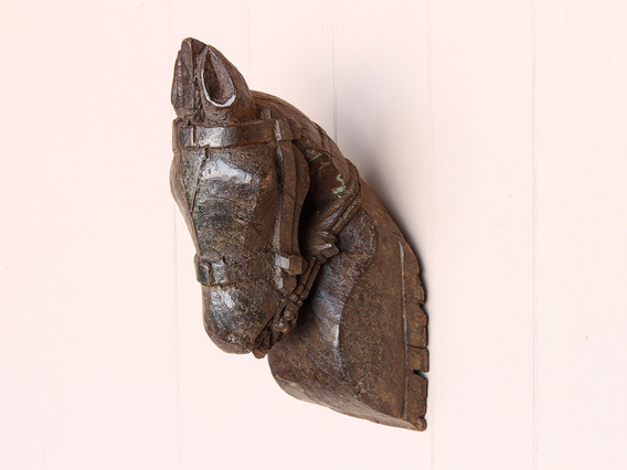 View our  Wooden Marwari Horse Head from the  Vintage Art  collection