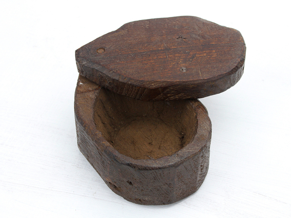 View our  Wooden Spice Box from the  Vintage Wooden Pots collection