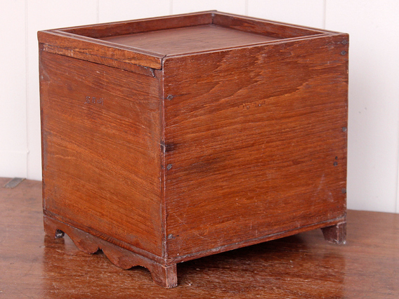 View our  Wooden Storage Box Cube from the  Old Wooden Chests, Trunks & Boxes collection